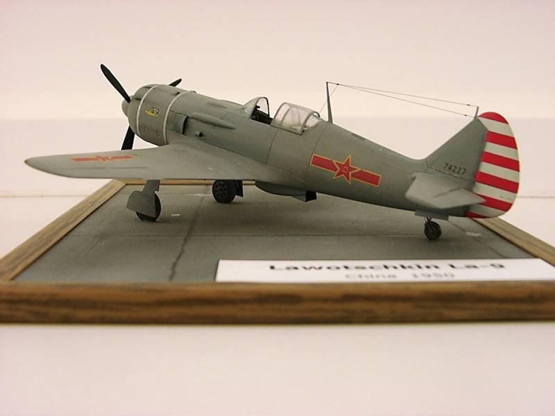 Lavochkin La-9 in 1/72nd Scale