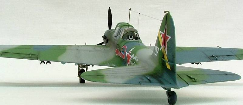 Source Modeling the Aircraft of the Soviet VVS