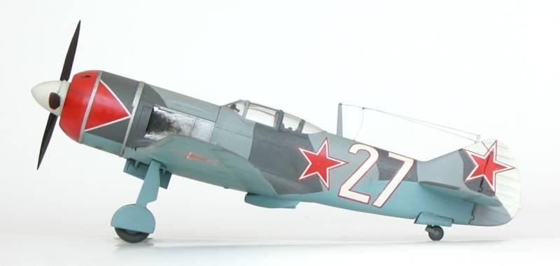 Modeling the VVS: La-7 Models in 1/48th Scale