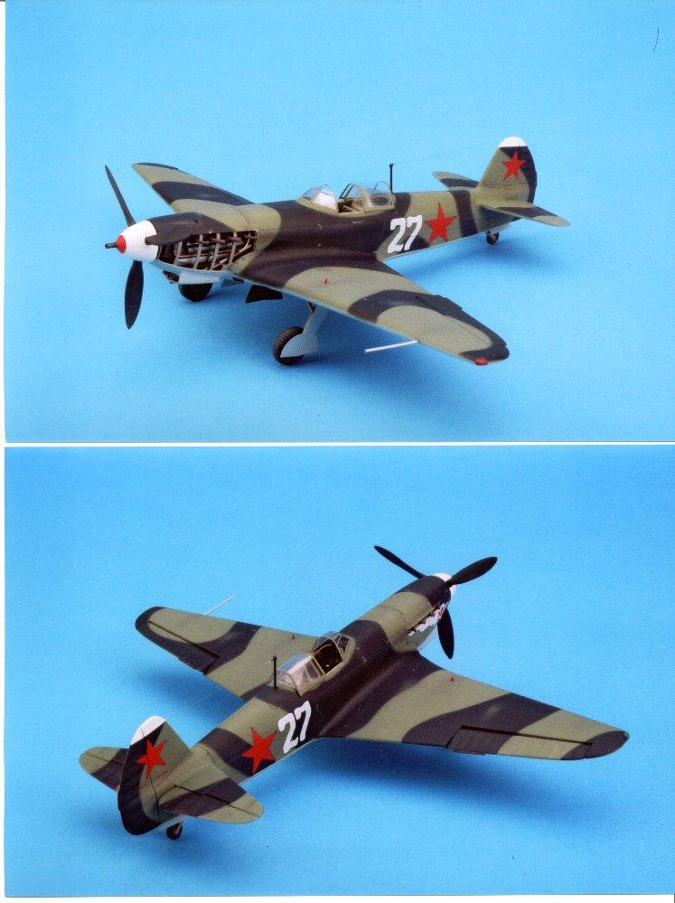 Modeling The VVS: Yak-9 Models In 1/48th Scale